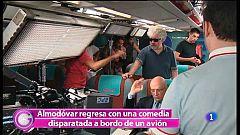 """Más Gente -  Nos colamos en el rodaje de """"Los amantes pasajeros"""""""