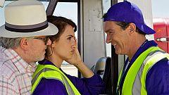 Pénelope Cruz y Antonio Banderas en 'Los amantes pasajeros'