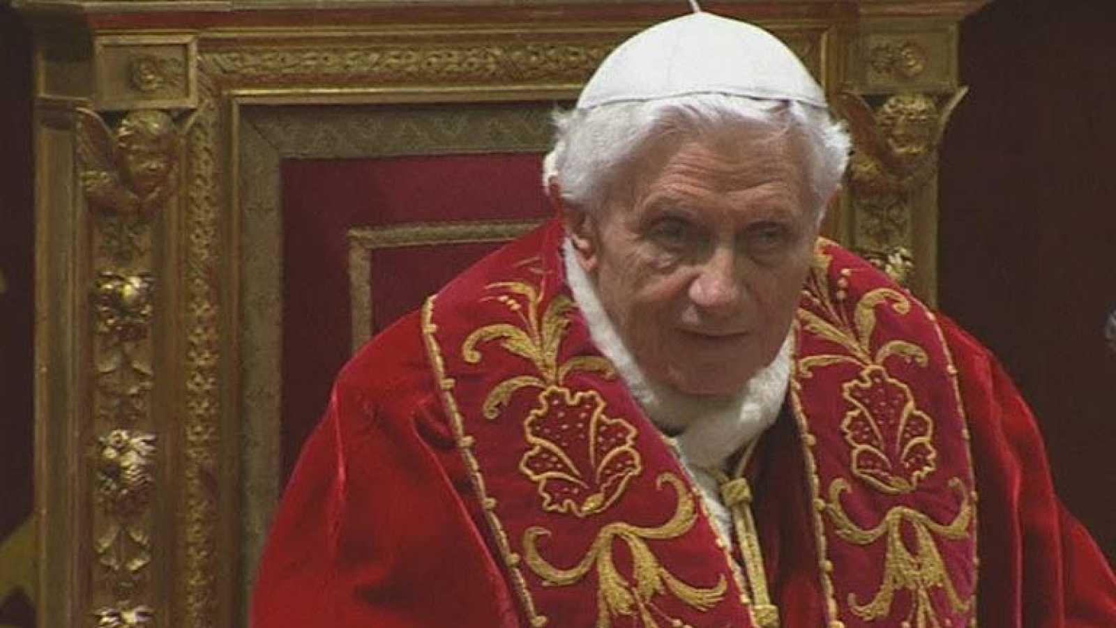 Último acto público del Papa Benedicto XVI
