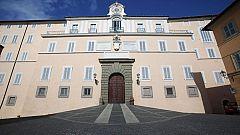 El papa se traslada al palacio de Castelgandolfo