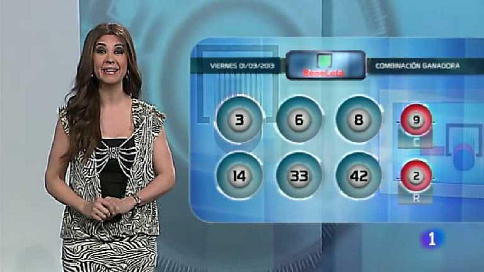 Bonoloto + Euromillones - 01/03/13 - Ver ahora