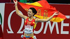 Isabel Macías, plata en 1.500