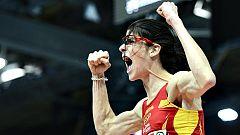 Así fue el salto de oro de Ruth Beitia