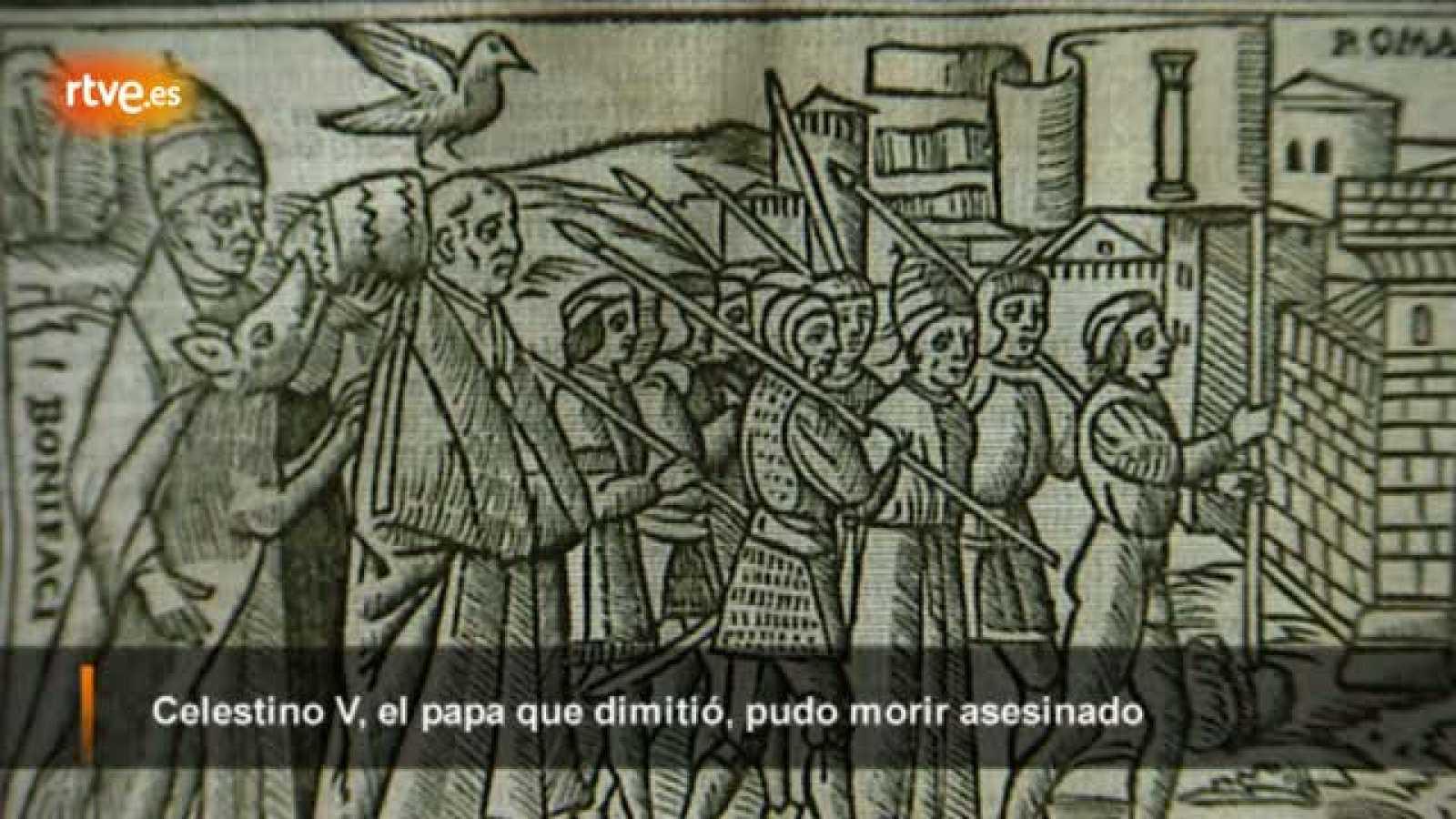 Celestino V, el pontífice al que le espantó el papado