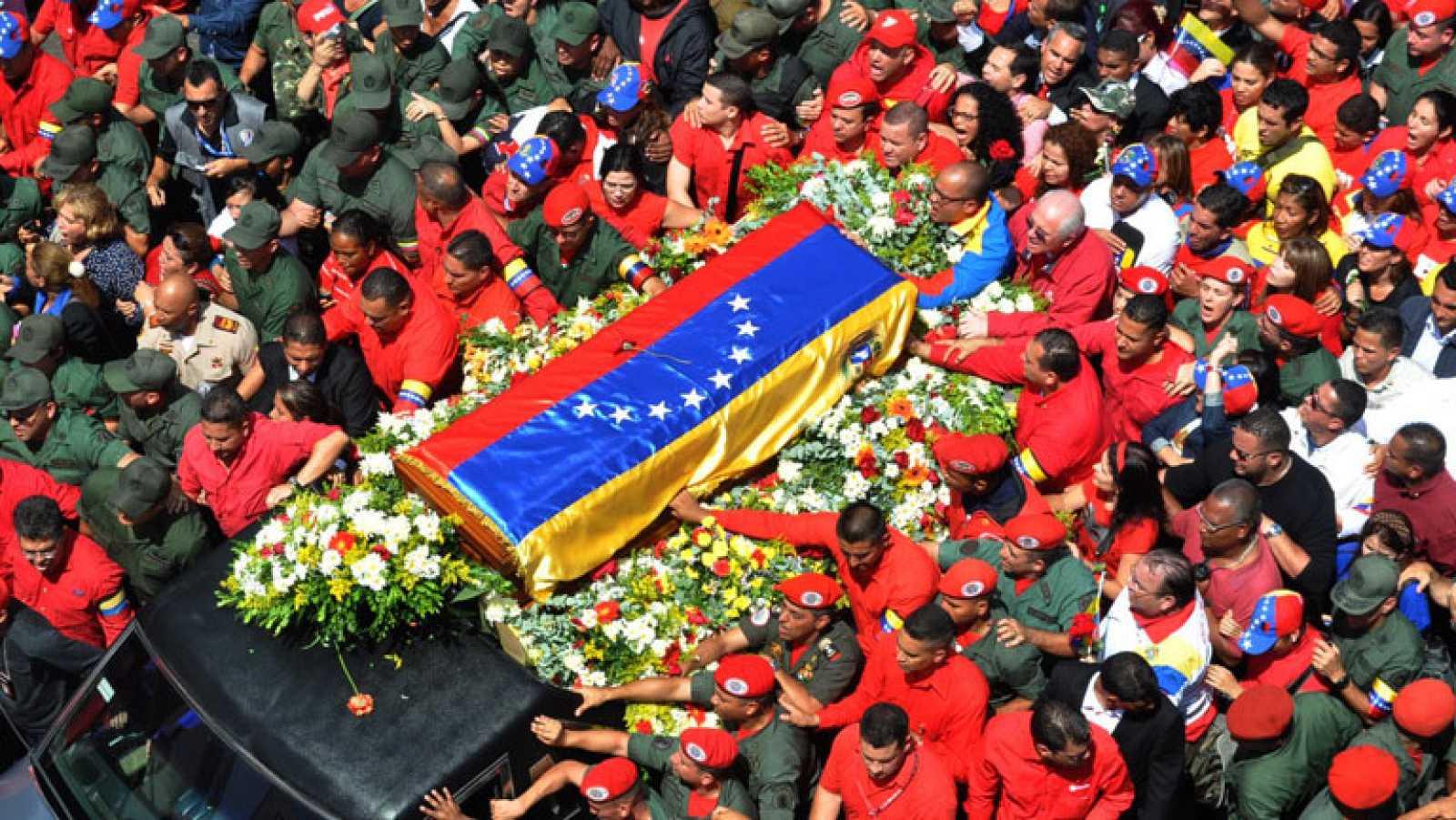 Así hemos contado la muerte de Hugo Chávez - RTVE.es