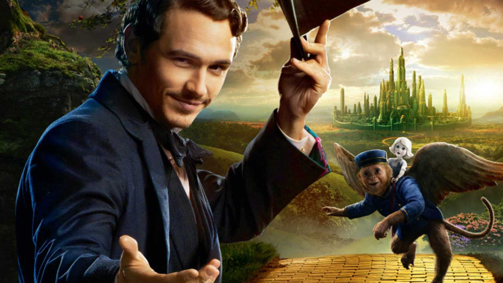 James Franco en Oz, un mundo de fantasía