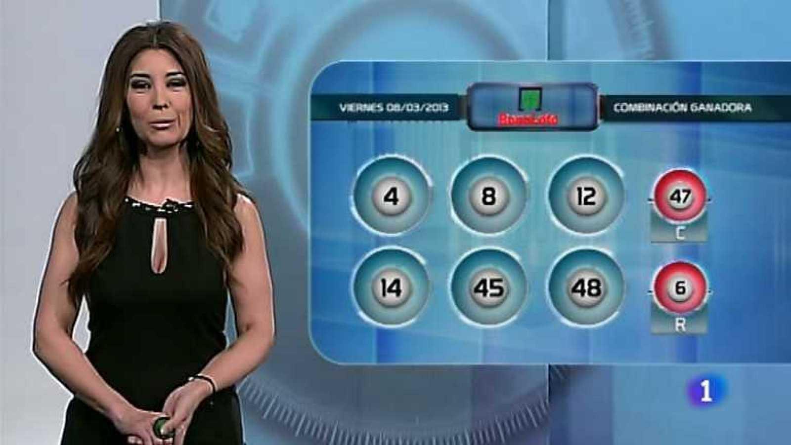 Bonoloto y Euromillones - 08/03/13 - ver ahora