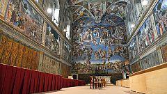 La Capilla Sixtina, en los Museos Vaticanos, a golpe de clic
