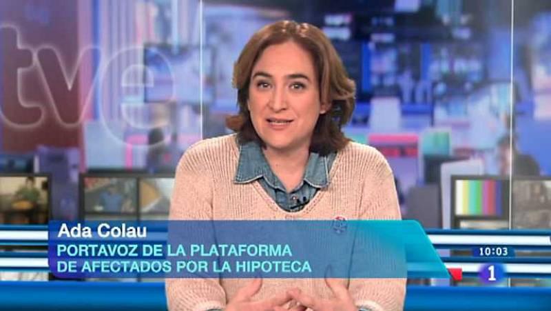 Los desayunos de TVE - Ada Colau, portavoz de la Plataforma de Afectados por la Hipoteca - Ver ahora