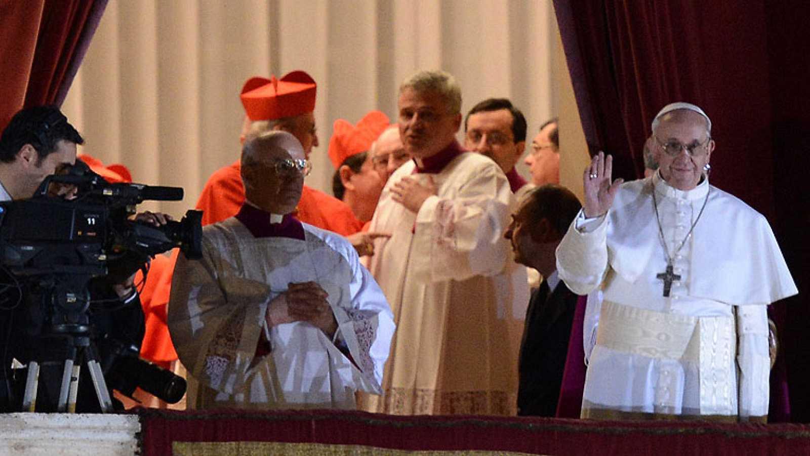 Resultado de imagen para Fotos del Cónclave que elige a Jorge Mario Bergoglio,