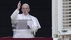 Primer ángelus del papa Francisco en la plaza de San Pedro