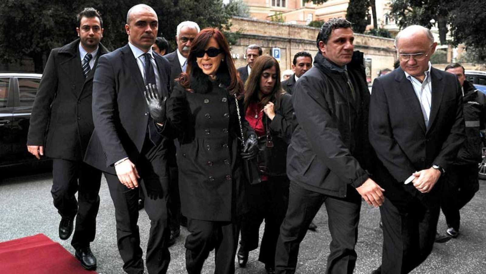 El papa Francisco recibirá a la presidenta argentina en su primera audiencia a un jefe de Estado
