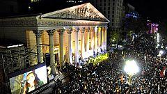 Vigilia en Argentina antes de la misa de inicio del papado de Francisco