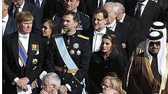 Delegaciones de 132 países asisten a la misa del papa Francisco