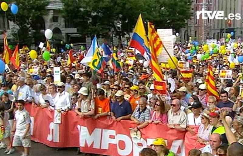 Manifestación contra el matrimonio gay (2004)