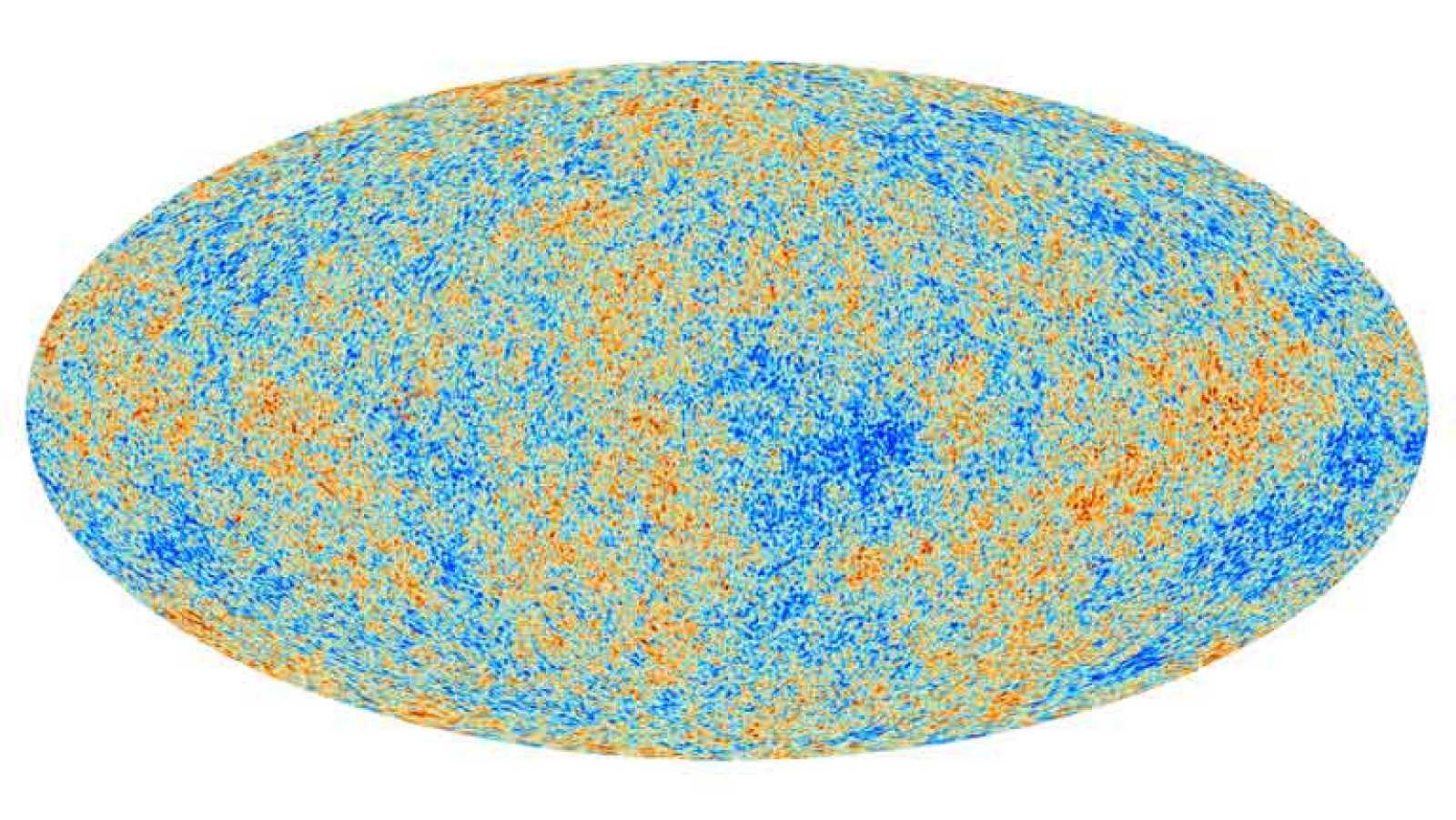 Animación de la radiación analizada por Planck