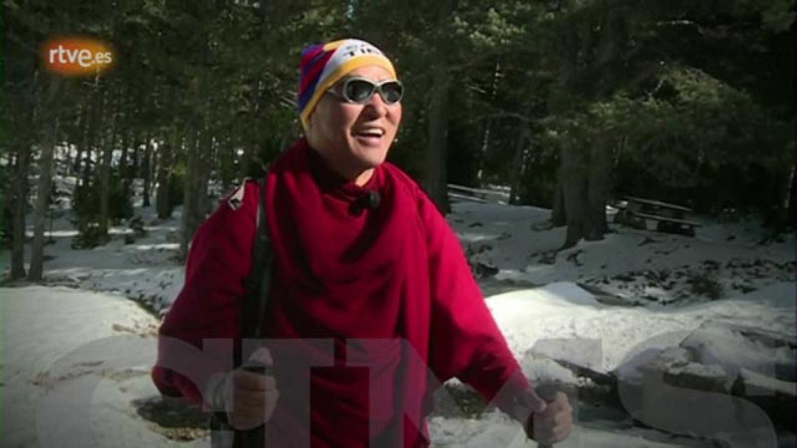 Cims -  Thubten Wangchen a la Serra d'Ensija - avanç