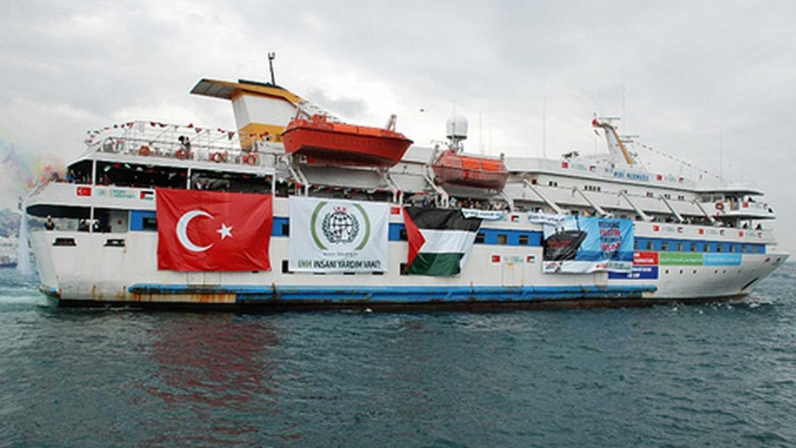 """Israel pide perdón a Turquía por el asalto de la """"flotilla de la libertad"""""""