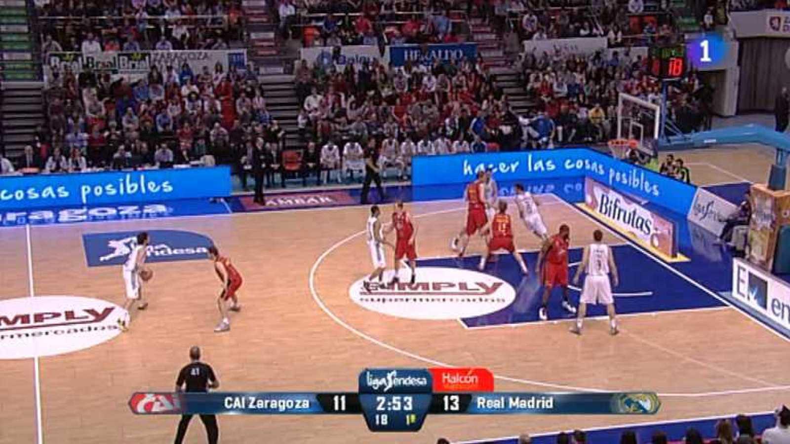 Baloncesto - Liga Endesa - CAI Zaragoza - Real Madrid - ver ahora
