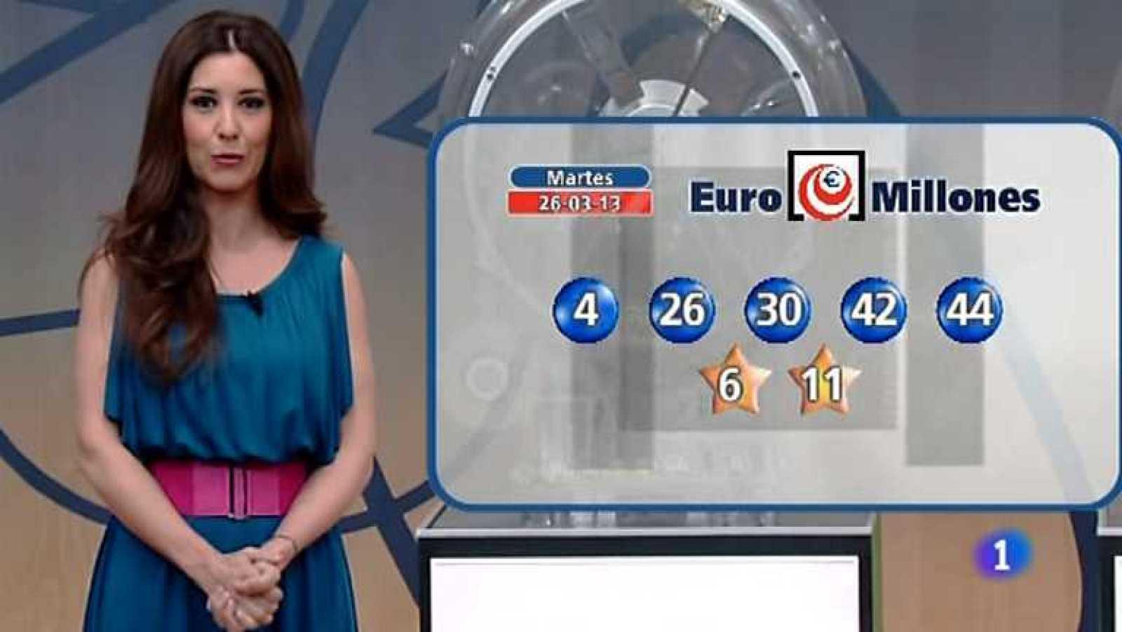Bonoloto + Euromillones - 26/03/13 - Ver ahora