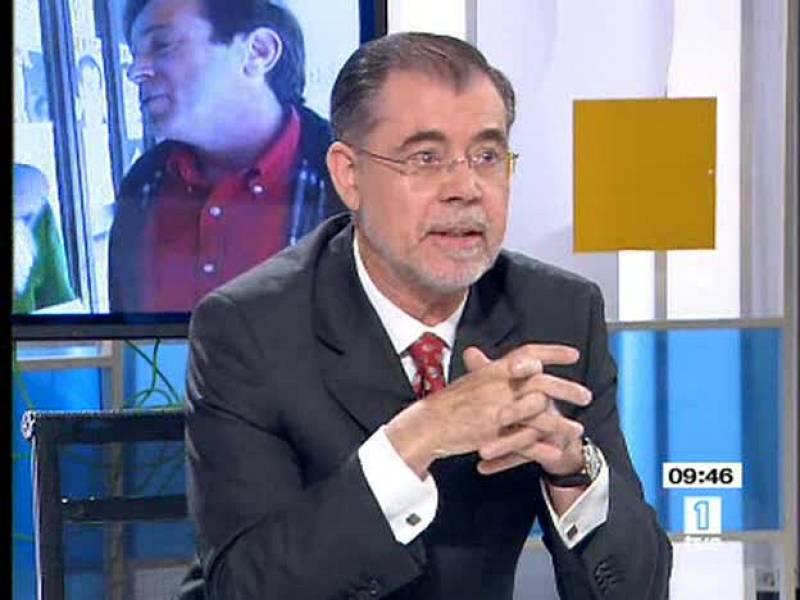 El ministro de Justicia participa en los Desayunos de TVE