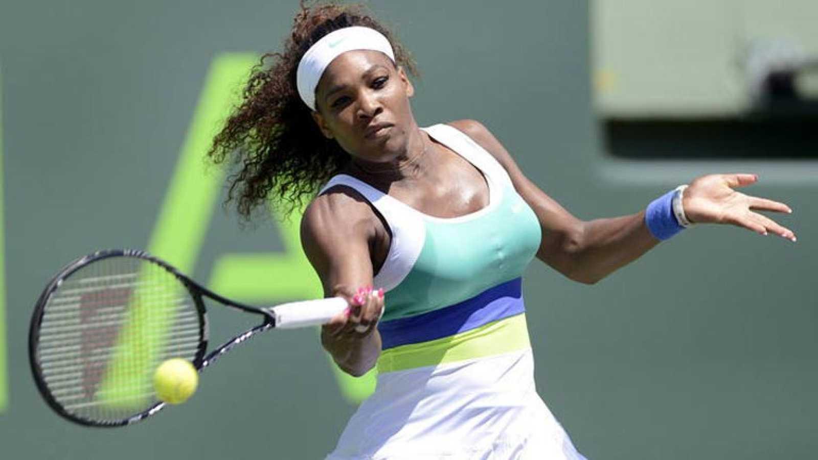 Serena Williams hace historia en Miami