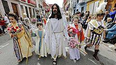Las procesiones del Domingo de Resurrección ponen fin a la Semana Santa