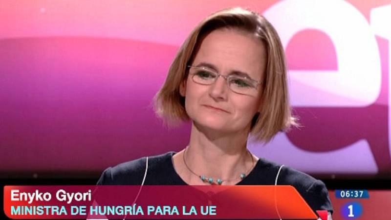 Europa 2013 - Entrevista - Enyko Gyori