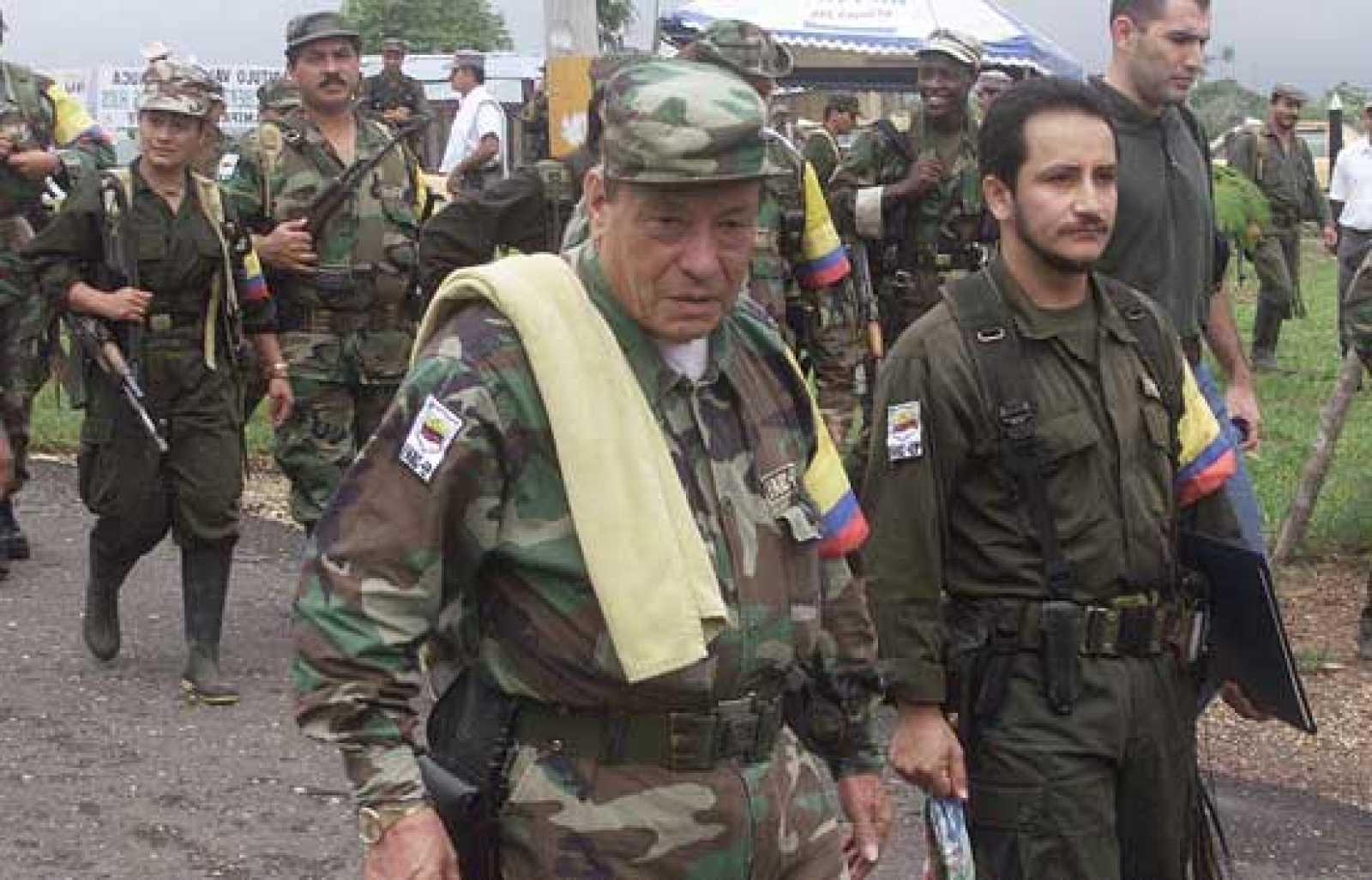 """El programa de TVE Informe Semanal ha mostrado las """"pruebas que avalan y demuestran"""" la relación entre la banda terrorista ETA y las Fuerzas Armadas Revolucionarias de Colombia (FARC) (21/06/08)."""