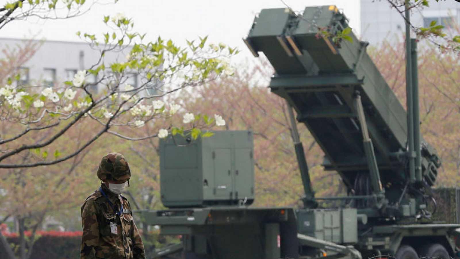 Japón despliega en el centro de Tokio sistemas antimisiles ante la amenaza norcoreana