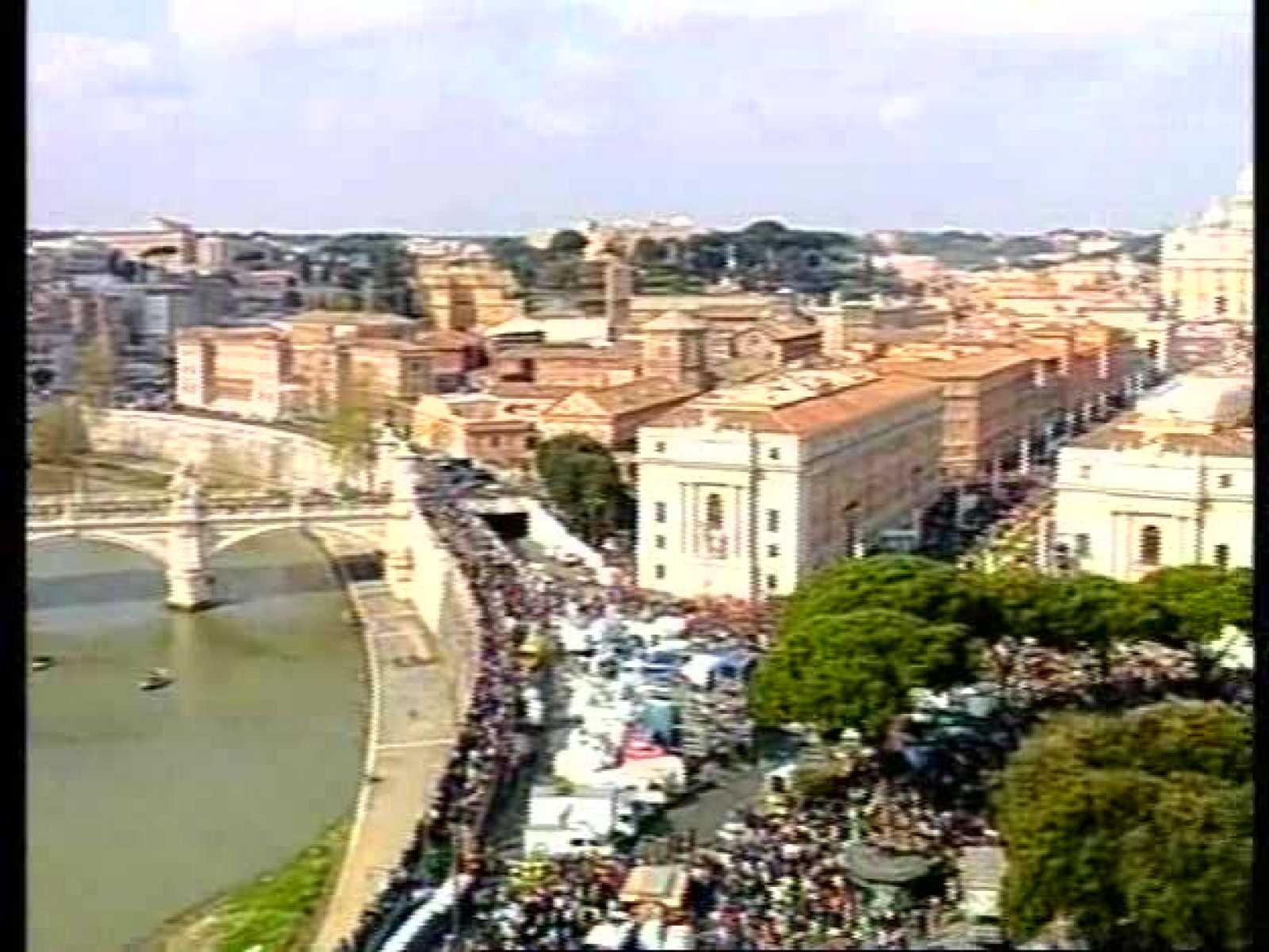 Reportaje sobre la muerte del Papa de Informe Semanal