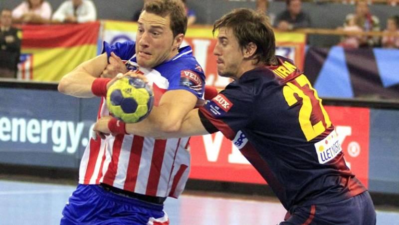 Balonmano - Liga de campeones: 1/4 Final ida: BM At. Madrid - FC Barcelona Intersport