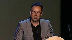 Fernando Luis Ortí Salvador recoge el premio a Mejor Música para Televisión