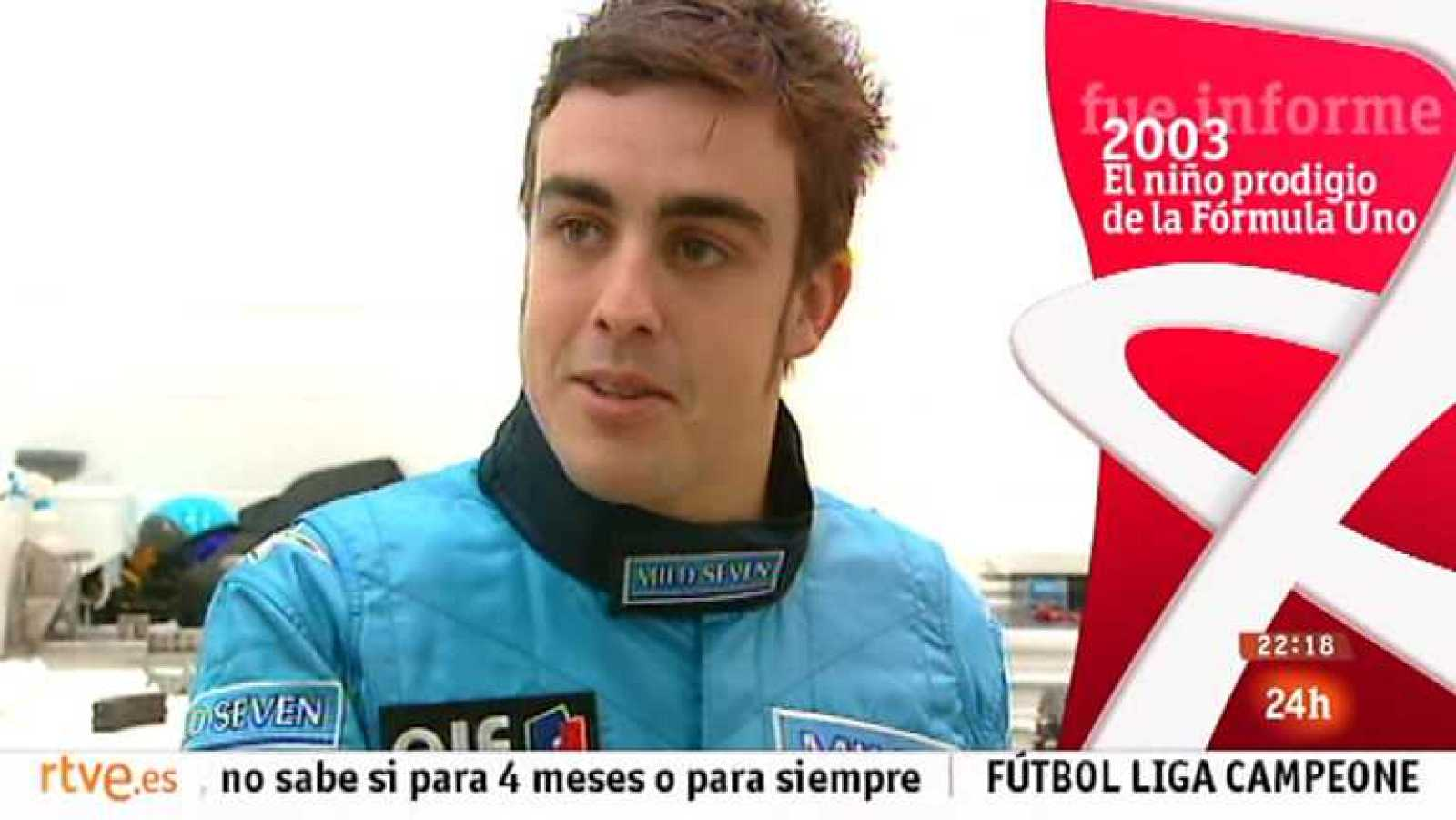 Fue informe - El niño prodigio de la Fórmula Uno (2003) - Ver ahora
