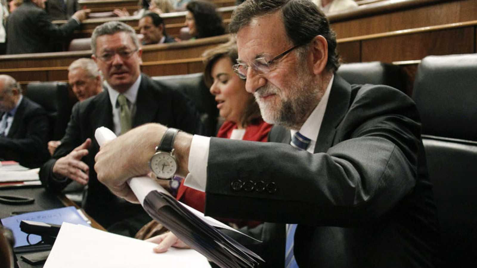 Rajoy enumera las mejoras conseguidas en la economía española