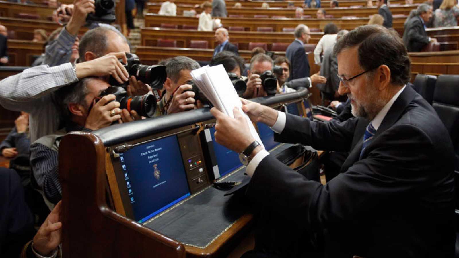 """Rajoy asegura que los 6,2 millones de parados son el acicate para """"mantener el rumbo"""""""