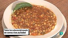 Babel en TVE - Sabores del mundo: Chile - Porotos granados