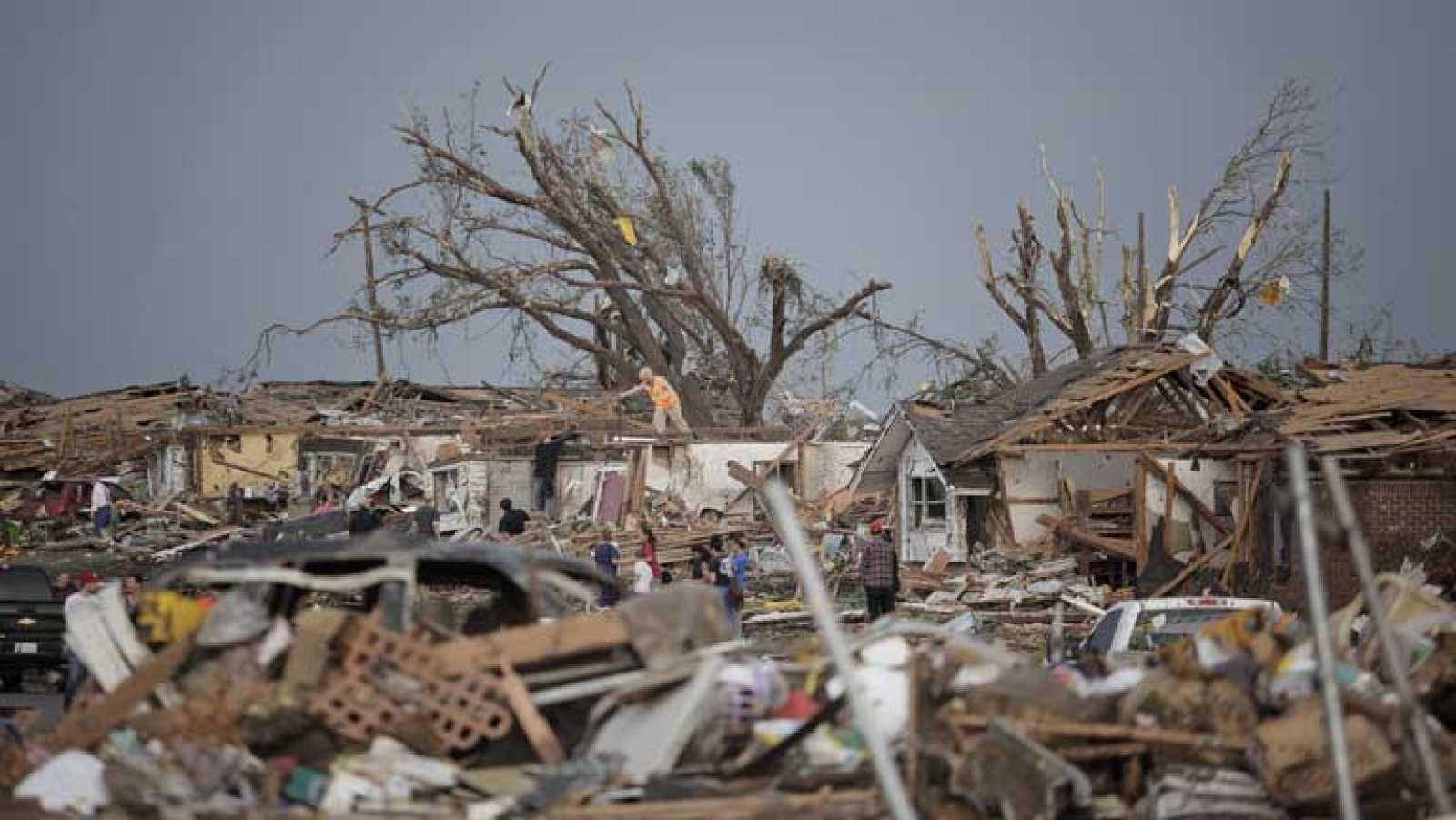 Tornado azota Oklahoma City