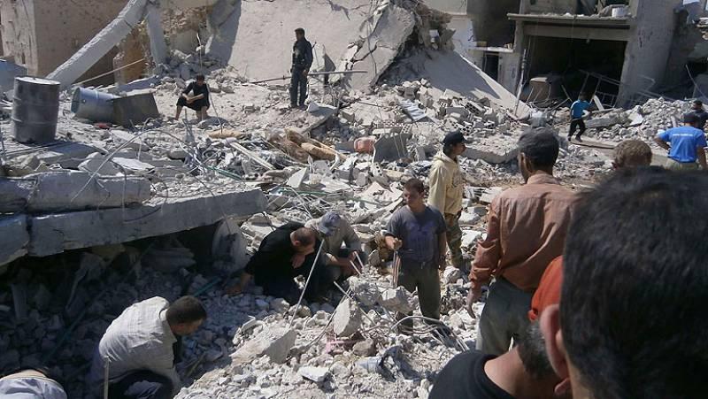 Solicitan corredor humanitario en Siria para sacar heridos y llevar medicinas
