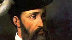 Paisaje con figuras - Francisco Pizarro (comienzo)