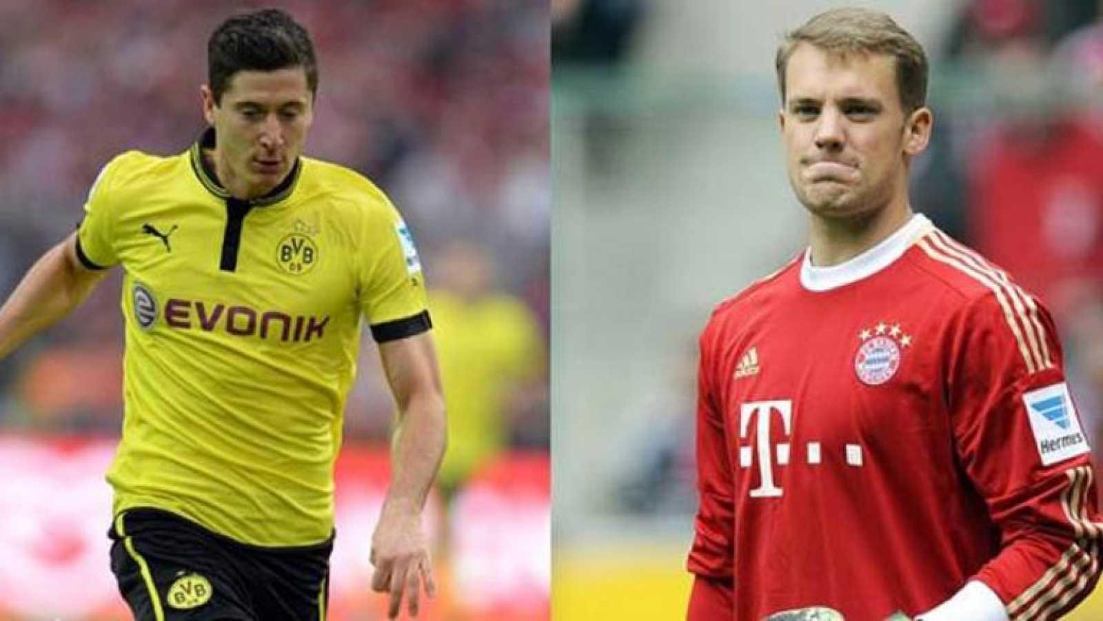 Las estrellas del Bayern y el Borussia hacen vibrar a Alemania
