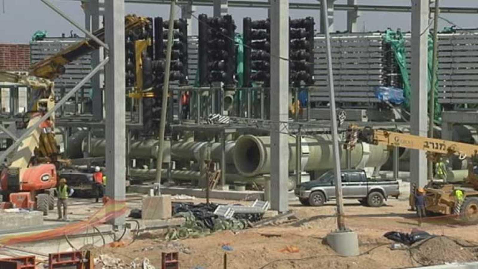 España construye la planta desaladora más grande del mundo en Israel