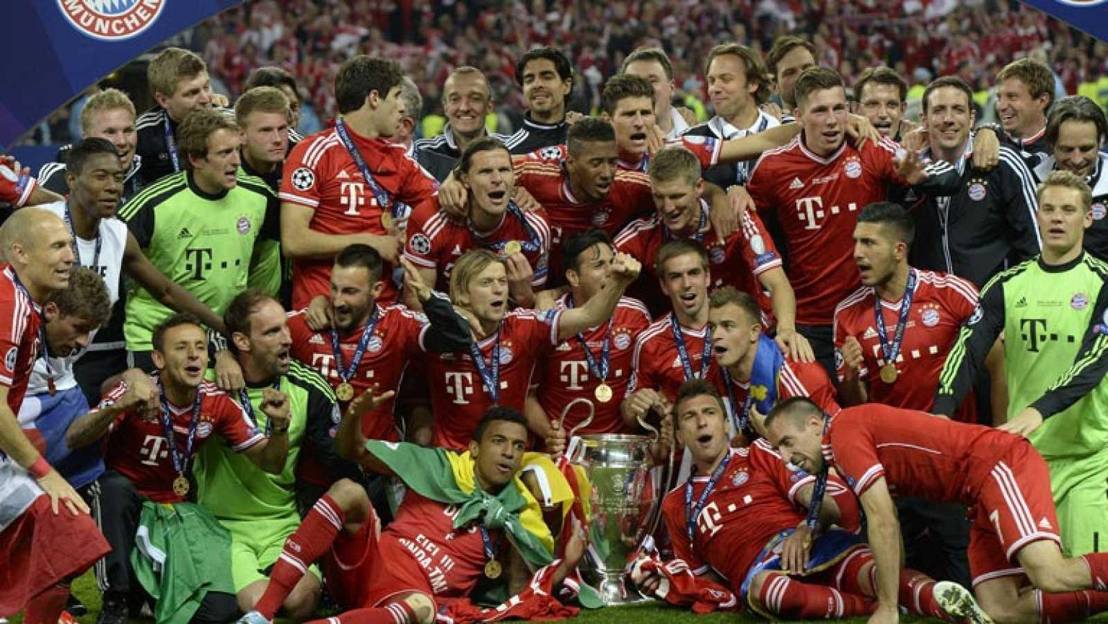 El Bayern alza su quinta Copa de Europa