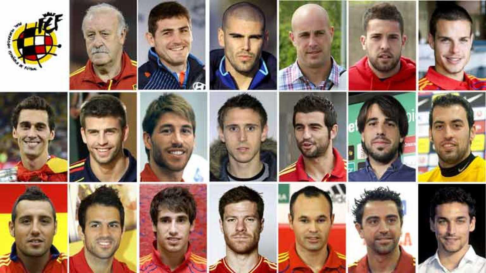 La Champions de Javi Martínez y la Europa League de Fernando Torres les han dado el premio del regreso a la selección española para la disputa de la Copa Confederaciones. Son dos de las novedades de una prelista de 26 jugadores de Vicente del Bosque,