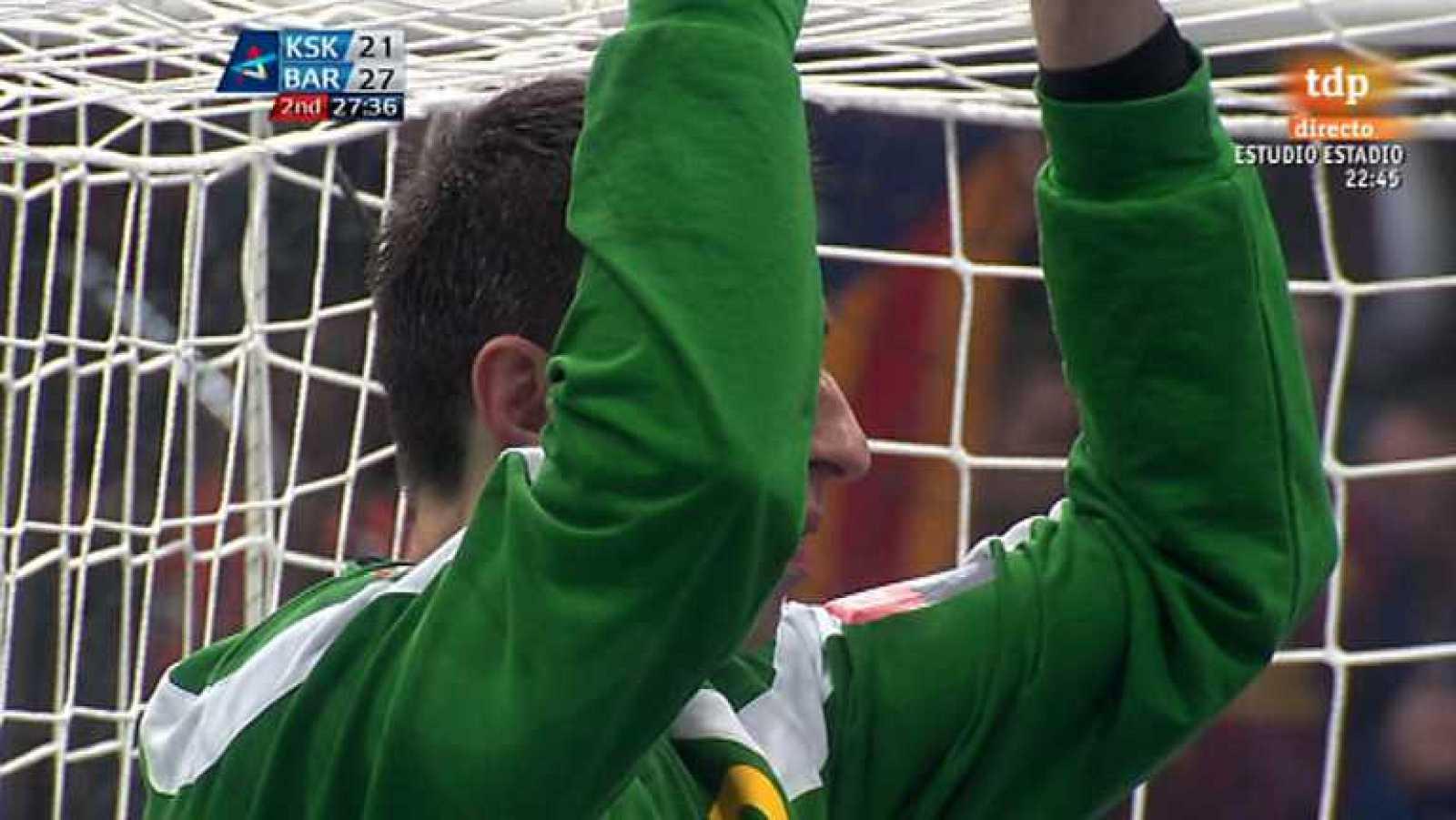 Balonmano - Liga Campeones. Final four 1ª semifinal: KS Vive Targi Kielce-FC Barcelona - Ver ahora