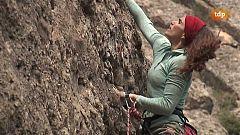 Alpinismo - Reportaje Berta Martín, escaladora