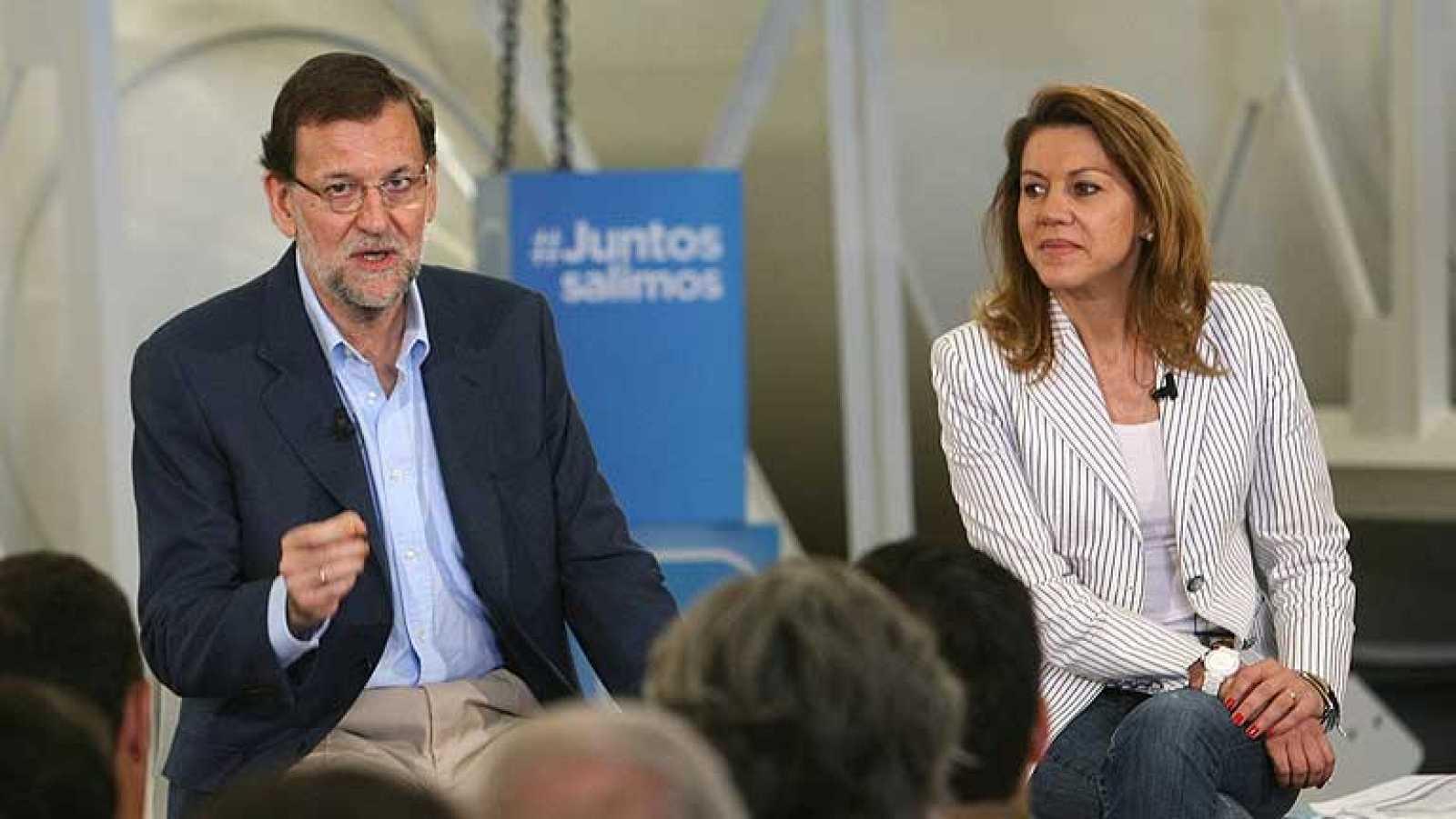 Rajoy pide a las entidades financieras que estén a la altura de las circunstancias