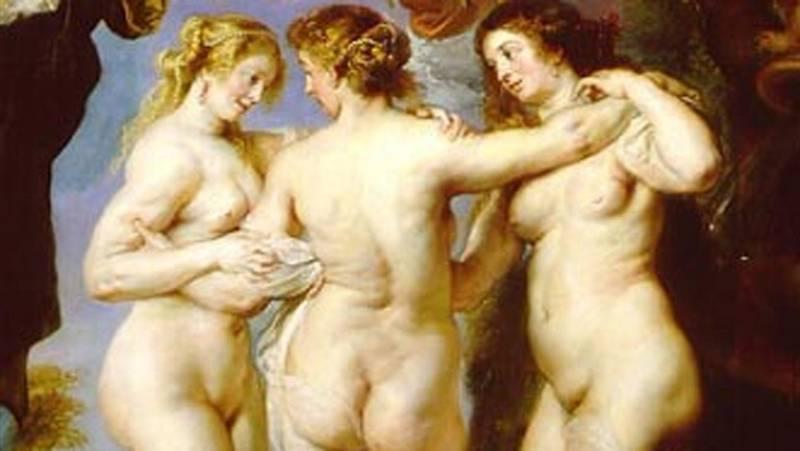 Mirar un cuadro - Las tres gracias (Rubens)