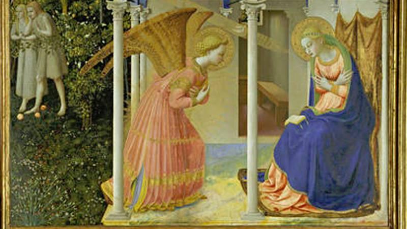 Mirar un cuadro - La Anunciación (Fra Angélico)