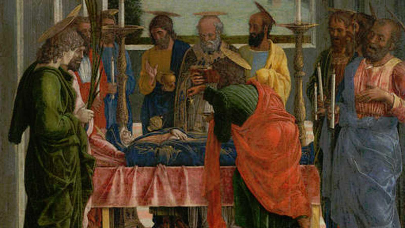 Mirar un cuadro - El tránsito de la Virgen (Mantegna)